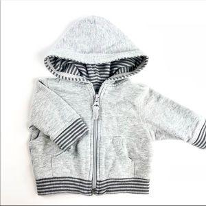 Grey baby sweater